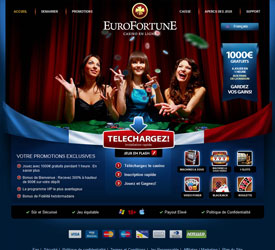 Le casino Eurofortune